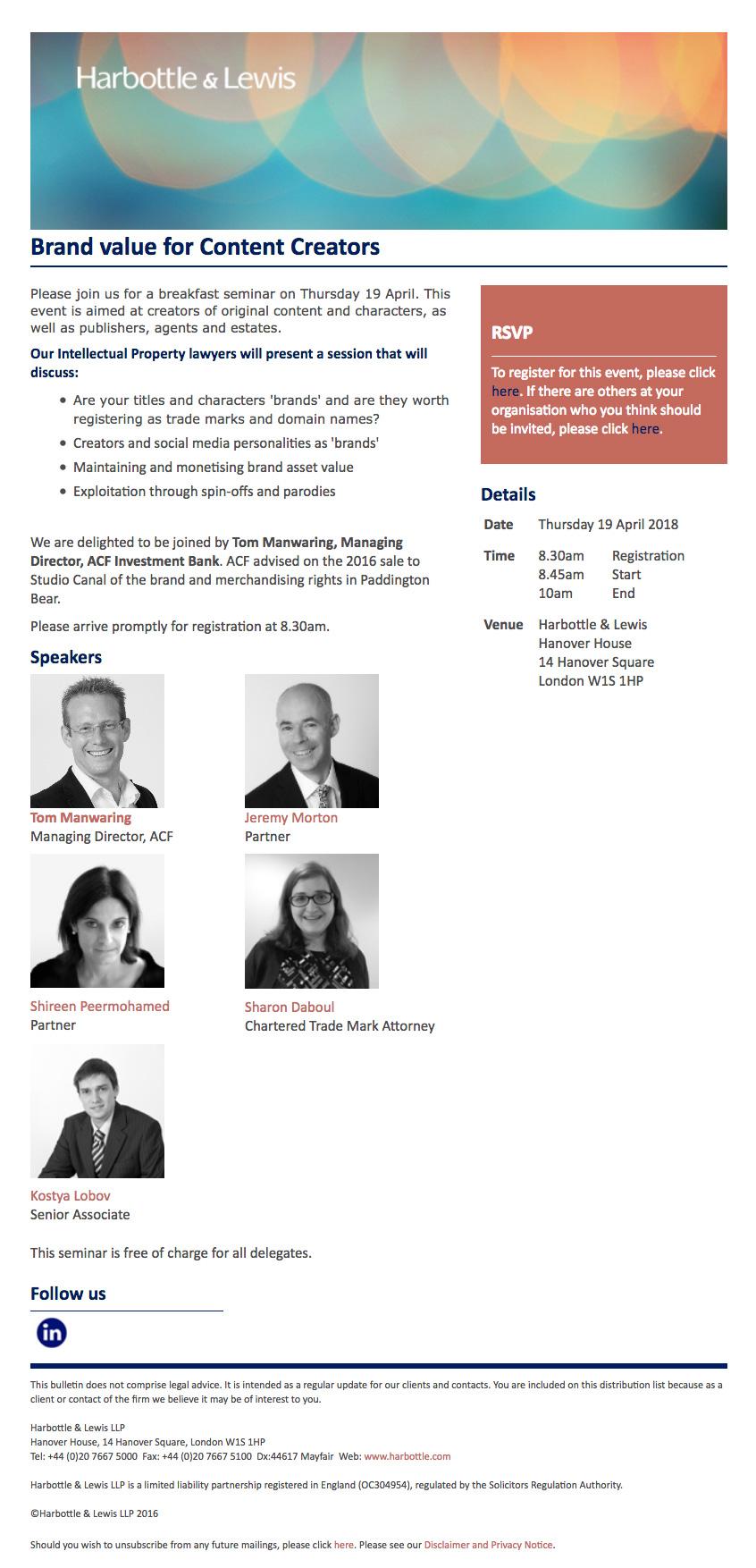 Seminar: Brand Values for Content Creators