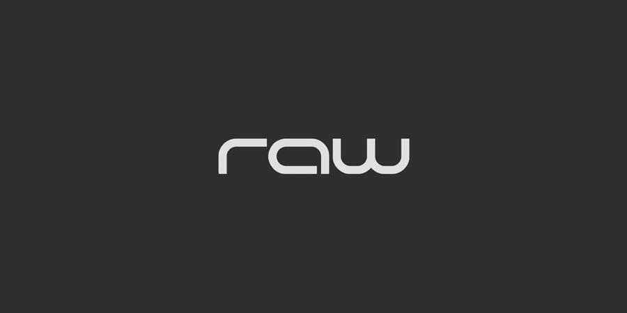 Raw Banner Logo