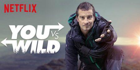 Above: You Vs Wild (Netflix)